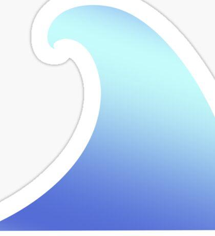 Ocean, Wave, Surf, Surfing, Tsunami, Water Sticker