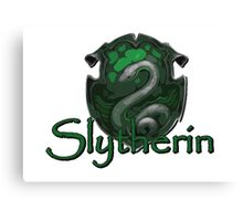 Slytherin logo Canvas Print