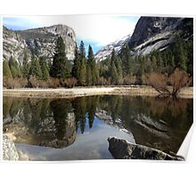 Mirror Lake - Yosemite Poster