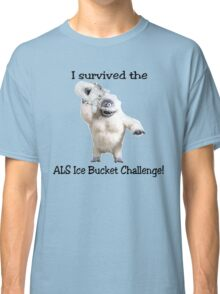 I survived ALS Ice Bucket Challenge Bumble Classic T-Shirt