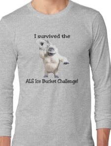 I survived ALS Ice Bucket Challenge Bumble Long Sleeve T-Shirt