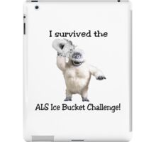 I survived ALS Ice Bucket Challenge Bumble iPad Case/Skin