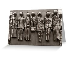 Monument to the Women of World War Two Greeting Card