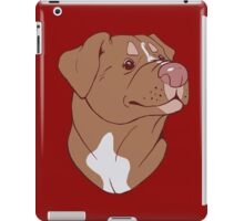 Pit Bull Pride- Red iPad Case/Skin