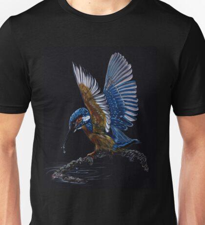 Kingfisher Drawing Unisex T-Shirt