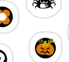 Halloween Pattern Sticker