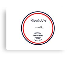 Formule 221b - Since 1895 Canvas Print