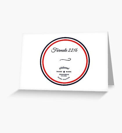 Formule 221b - Since 1895 Greeting Card