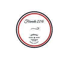 Formule 221b - Since 1895 Photographic Print