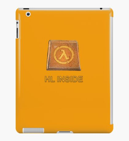 Half Life Gamer Inside  iPad Case/Skin