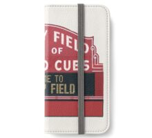 Chicago Home of Baseball Fever iPhone Wallet/Case/Skin