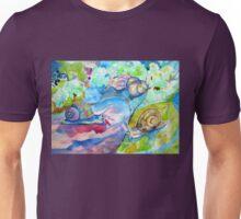 SNAILS AFTER RAIN Unisex T-Shirt