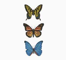 Butterflies | Triptych Series  Kids Tee