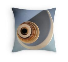 Old roll of paper Throw Pillow