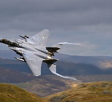F15E Devils Horns by Simon Pattinson