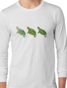 Turtle | Triptych Series  Long Sleeve T-Shirt