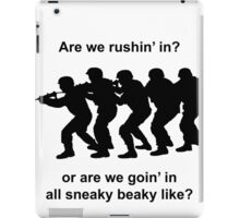 CSGO Sneaky Beaky Shirt iPad Case/Skin