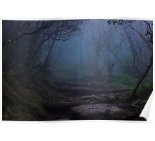 Upon the Foggy Trail Poster
