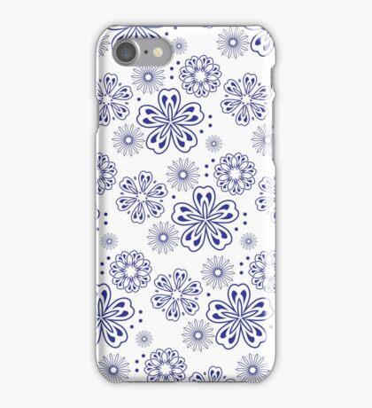 Floral pattern. Perfect for printing on fabric or paper. iPhone Case/Skin
