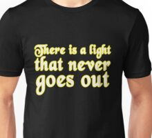 the smiths there is a light that never goes out the smiths 500 days of summer music t shirts rock t shirts band tees pop culture t shirts funky t shirts popular graphic tees Unisex T-Shirt