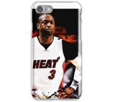 Dwyane Wade #3 - Miami Heat iPhone Case/Skin