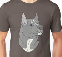 Pit Bull Pride - Blue Pointed Unisex T-Shirt