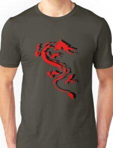 3D Double Dragon Silhouette Unisex T-Shirt