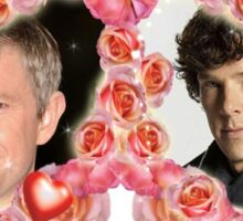 John and Sherlock, Sherlock and John Sticker