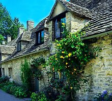Arlington Row 2, Bibury, Cotswolds, England. by rodsfotos