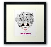 Latrice - Large and in charge Framed Print
