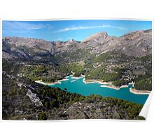 Guadalest, near the Costa Blanca, Spain. Poster