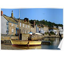 Another from that Morning at Mousehole, Cornwall Poster