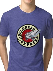 DeLorean Express Tri-blend T-Shirt
