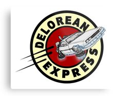 DeLorean Express Metal Print
