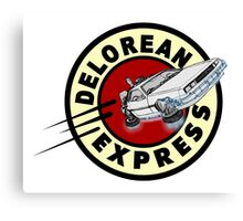 DeLorean Express Canvas Print