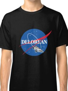 Delorean Nasa Classic T-Shirt