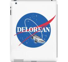 Delorean Nasa iPad Case/Skin