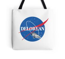 Delorean Nasa Tote Bag
