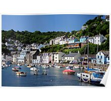West Looe, Cornwall Poster