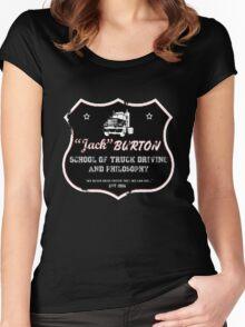 Jack Burton Trucking Women's Fitted Scoop T-Shirt