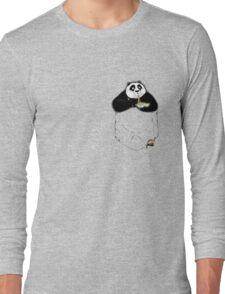 Kung Fu Po-cket Long Sleeve T-Shirt