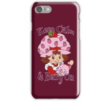 Keep Calm and Berry On iPhone Case/Skin