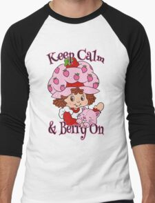 Keep Calm and Berry On Men's Baseball ¾ T-Shirt