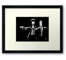 Beavis & Butthead Pulp Fiction Framed Print