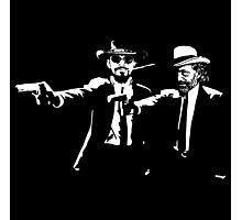 Django Fiction Photographic Print