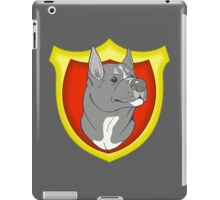 Pit Bull Pride - Blue Point with Crest iPad Case/Skin