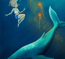 Whale Girl by BrodieHart