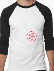 Made In 1976, All Original Parts Men's Baseball ¾ T-Shirt