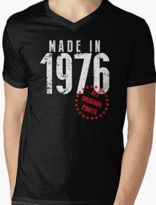 Made In 1976, All Original Parts Mens V-Neck T-Shirt