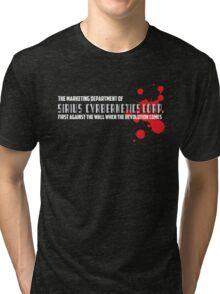 SIRIUS CYBERNETICS CORPORATION Tri-blend T-Shirt